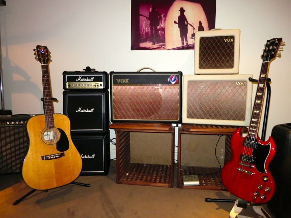 Vox AC15 with external 1x12 cabinet