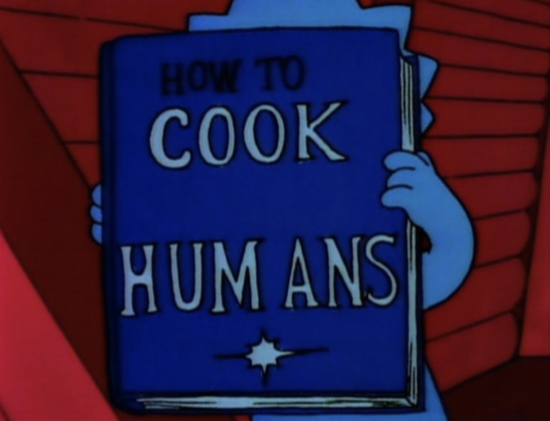 how to cook humans simpsons