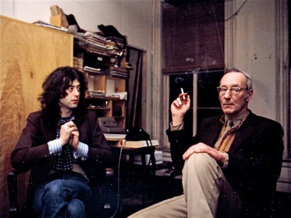 william burroughs and jimmy page