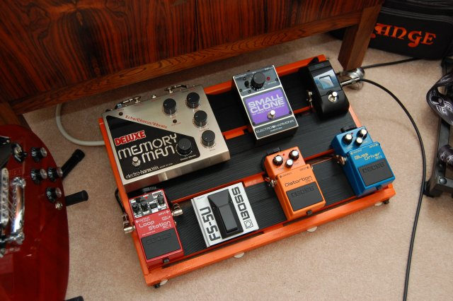 DIY Effects Pedalboard | END OF THE GAME